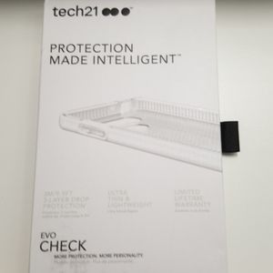 Case tech21 for LG G6 clear-white new